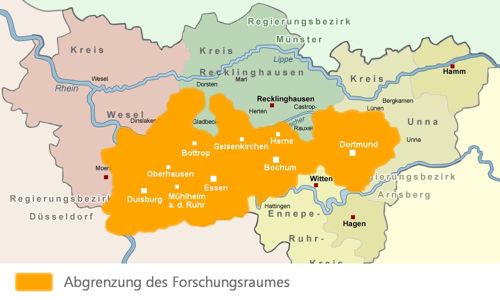 Karte Ruhrgebiet Städte.Startseite Backup Vor Endbericht Das Selbst I Und Das Ruhrgebiet